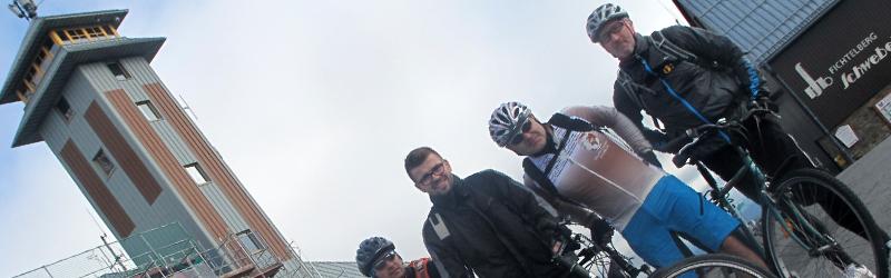 Radtour vom Fichtelberg zur Beerenhütte